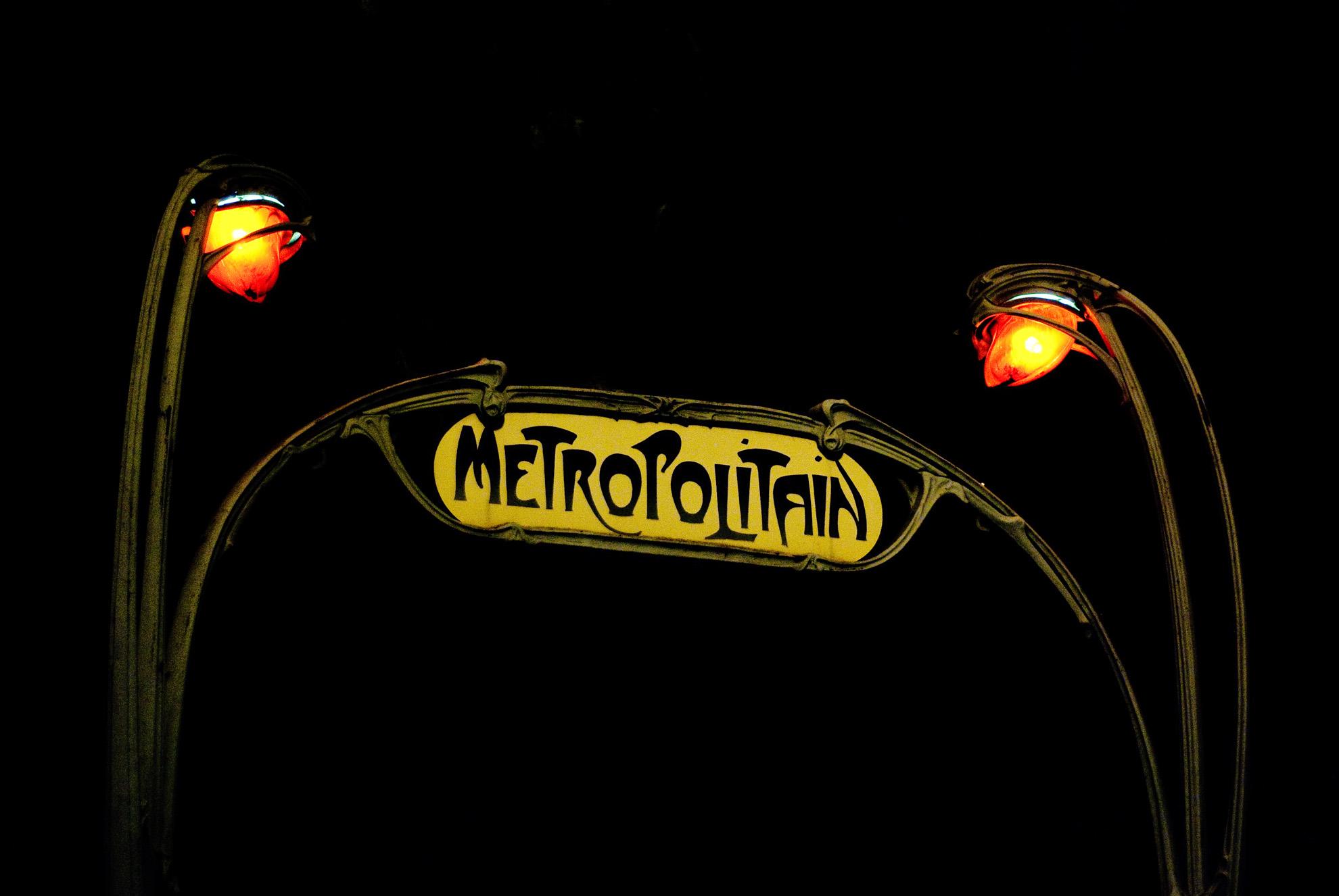 Brama paryskiego metra