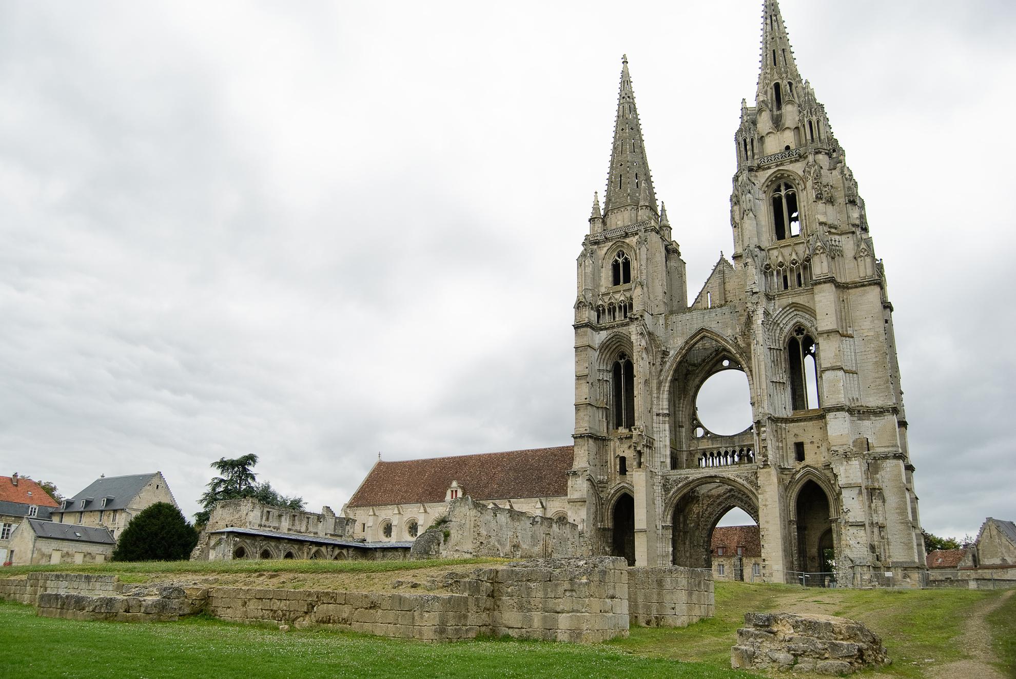 Ruiny opactwa Saint-Jean-des-Vignes