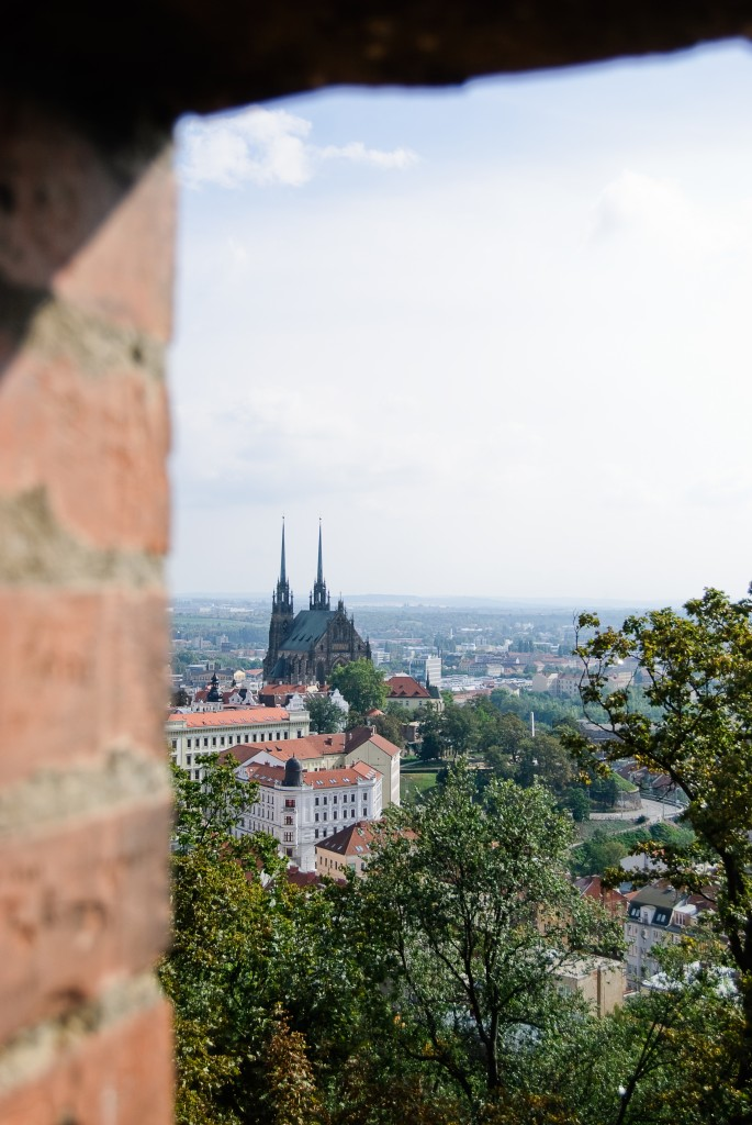 Panorama Brna z zamku Špilberk