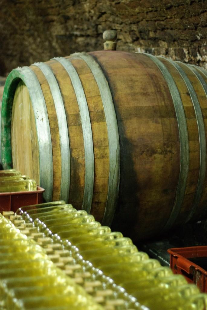 Białe wino Nad Sklepy