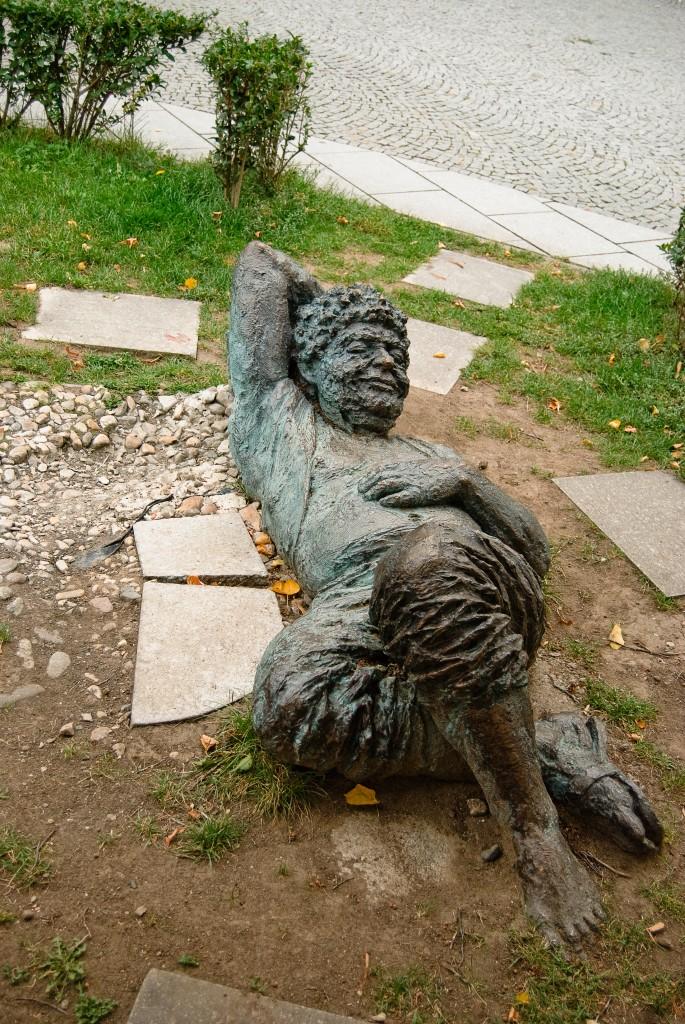 Pomnik Bahusa w Mikulovie