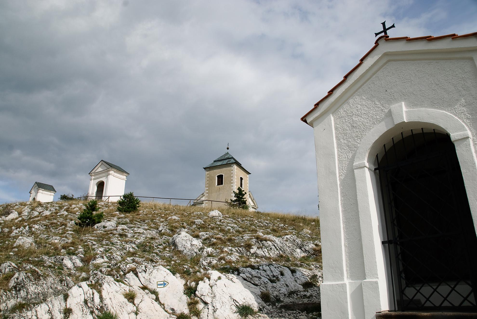 Droga krzyżowa na Świętej Górze w Mikulovie