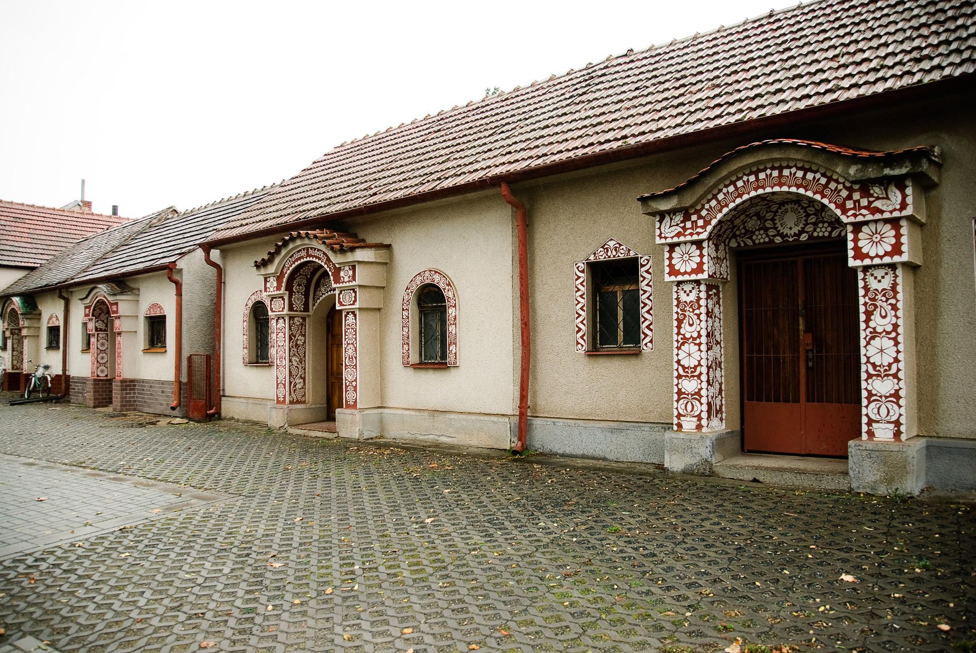 Chaty winne w Mutěnicach