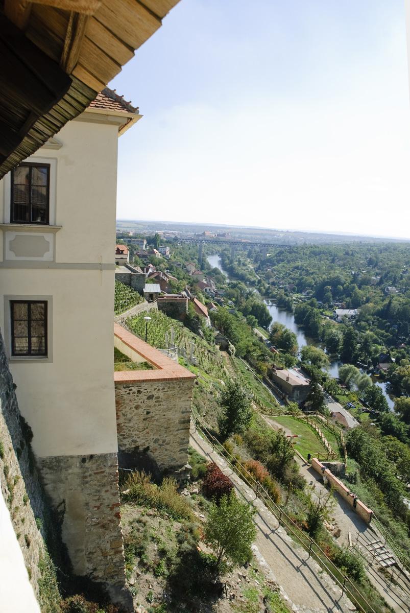 Widok z zamku w Znojmie