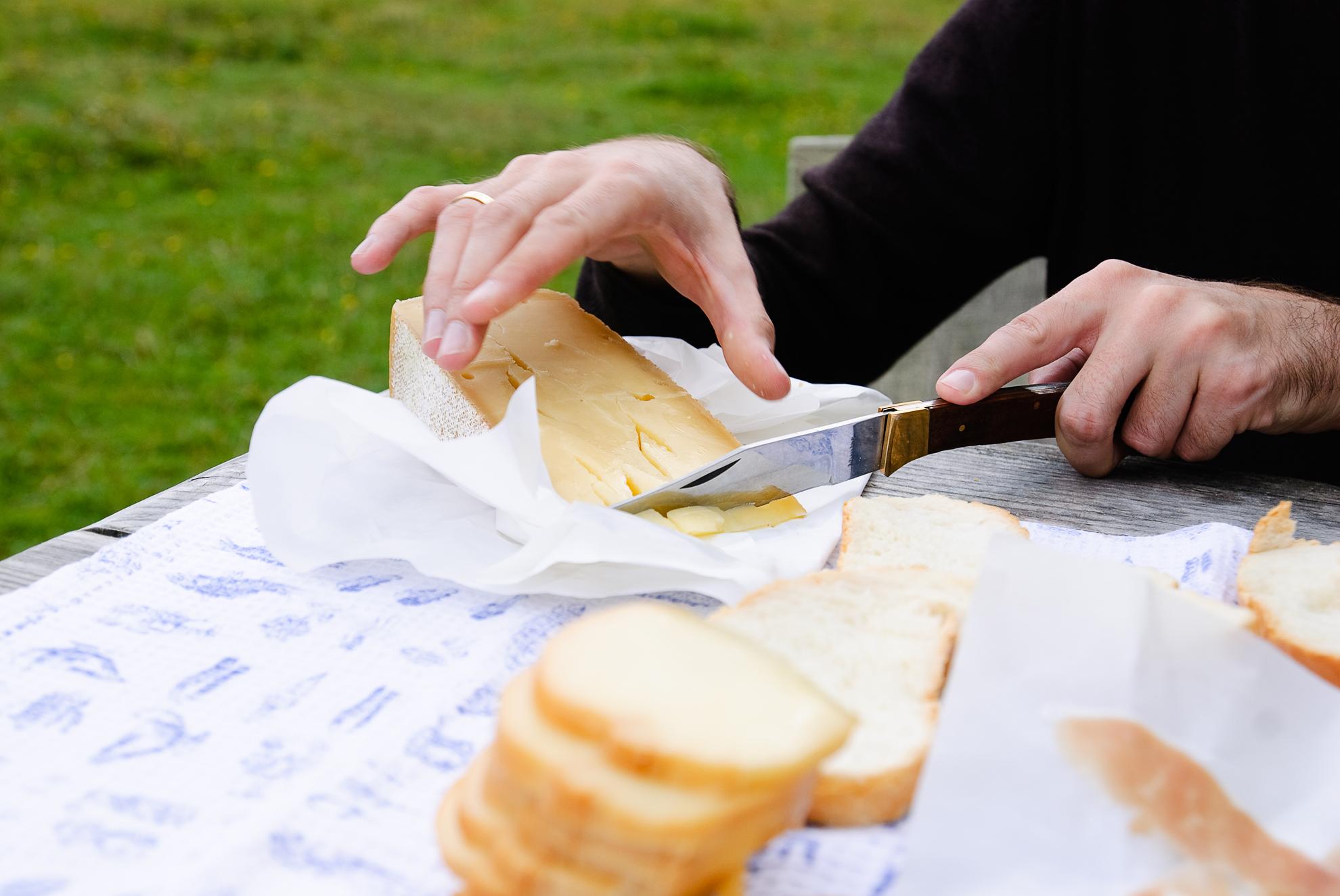 Śniadanie w Val di Visdende