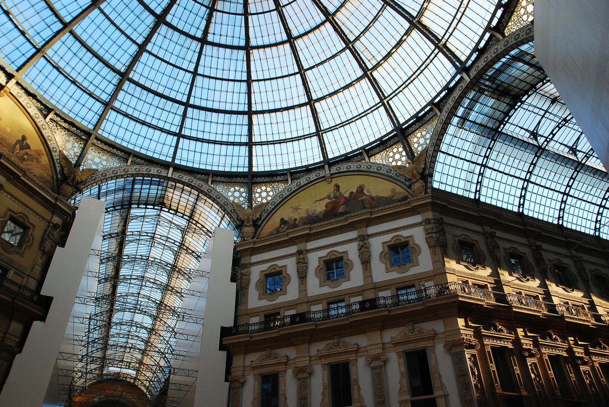 Wnętrze Vittorio Emanuele Milano