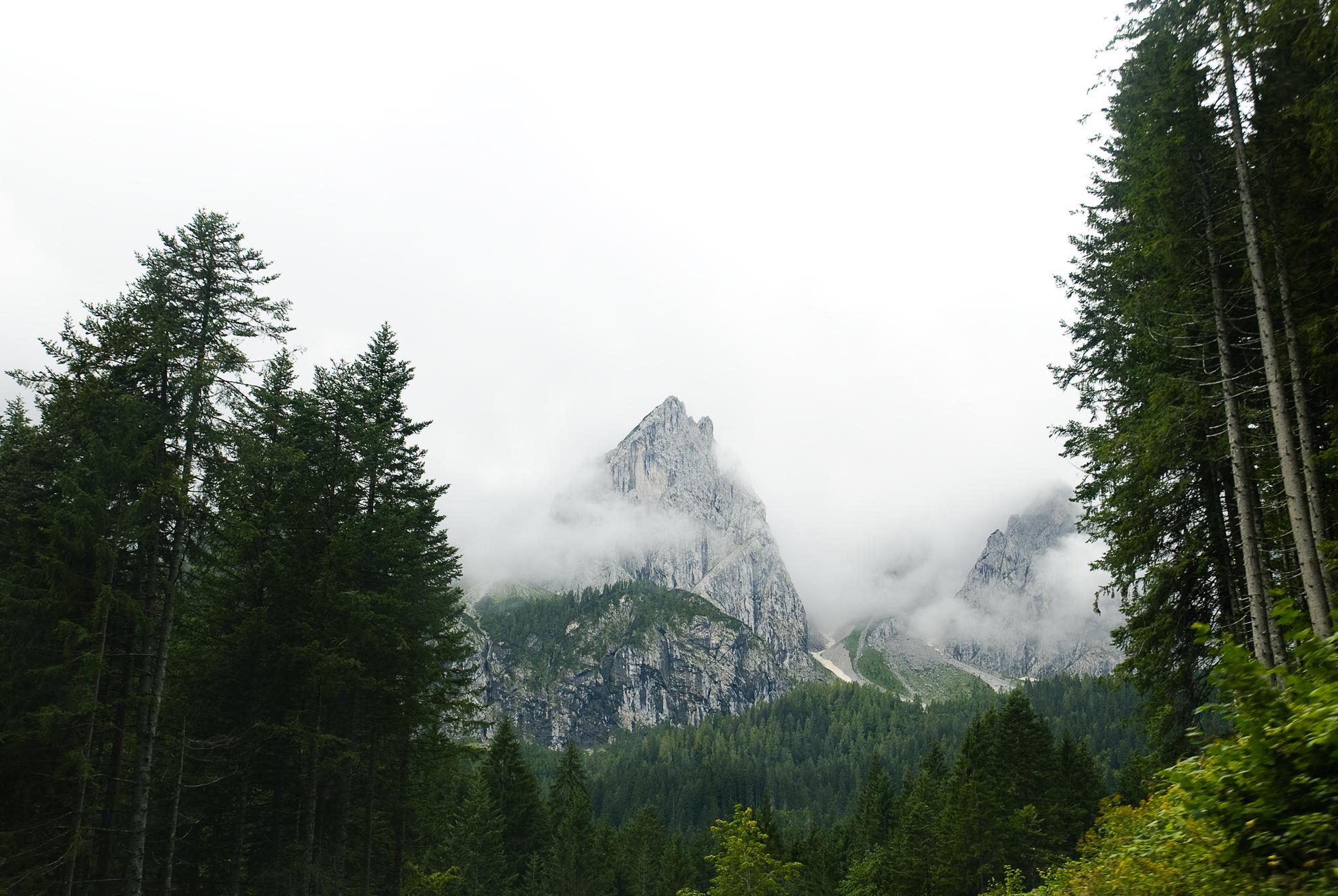 W drodze do Val di Visdende