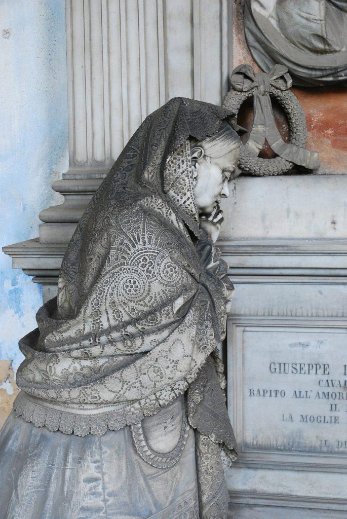 Genua - cmentarz Staglieno