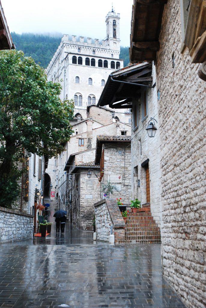 Gubbio i Palazzo dei Consoli