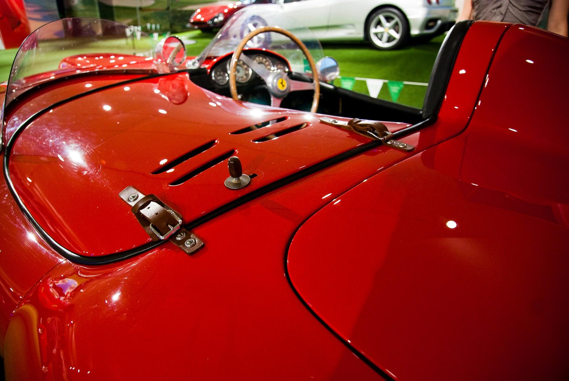 Ferrari 166 MM Spider Scaglietti w Muzeum Ferrari w Maranello