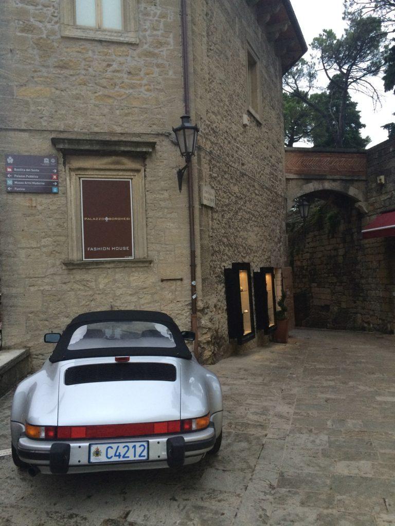 Porsche Carrera 3.2 WTL w San Marino