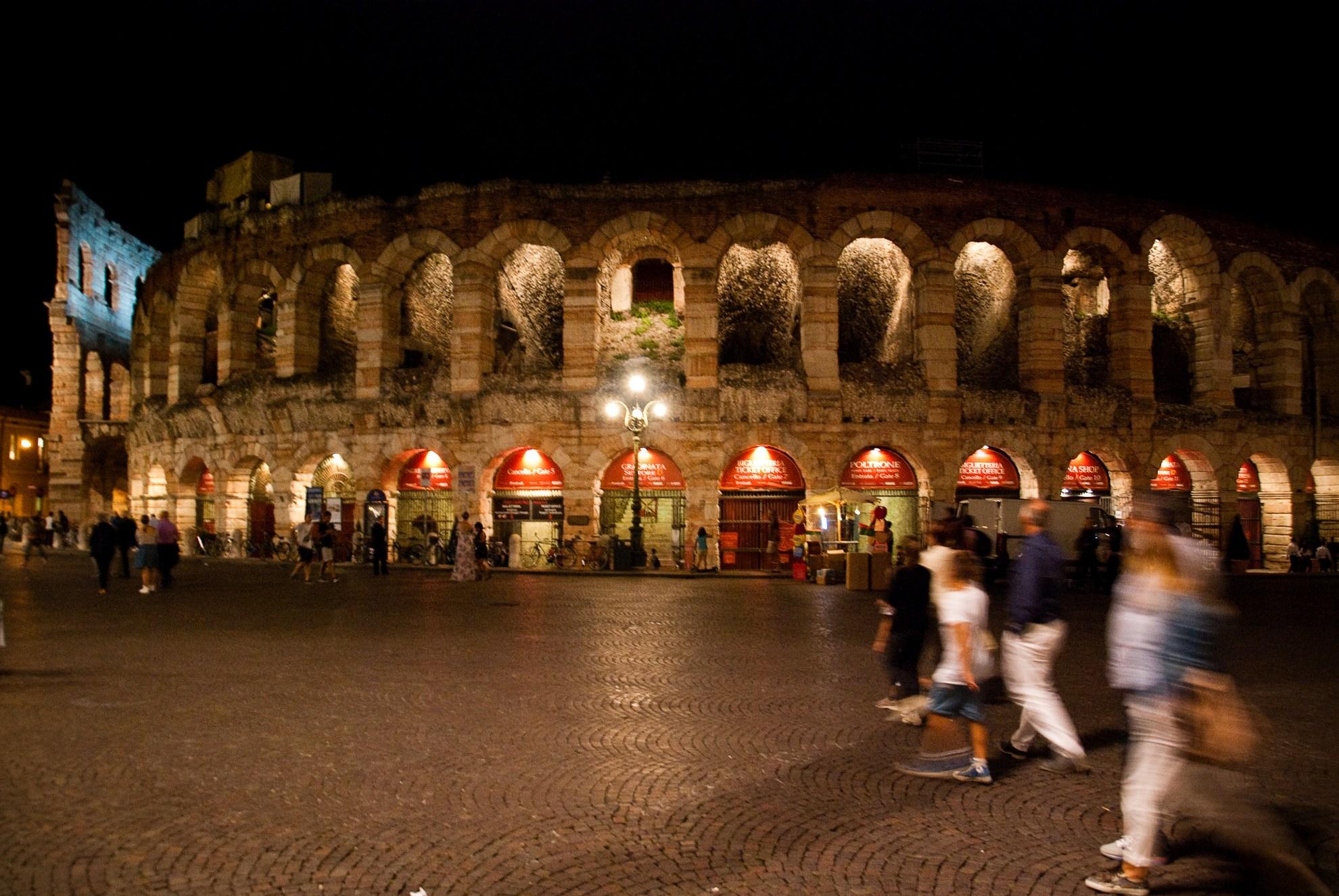 Amfiteatr Arena w Weronie