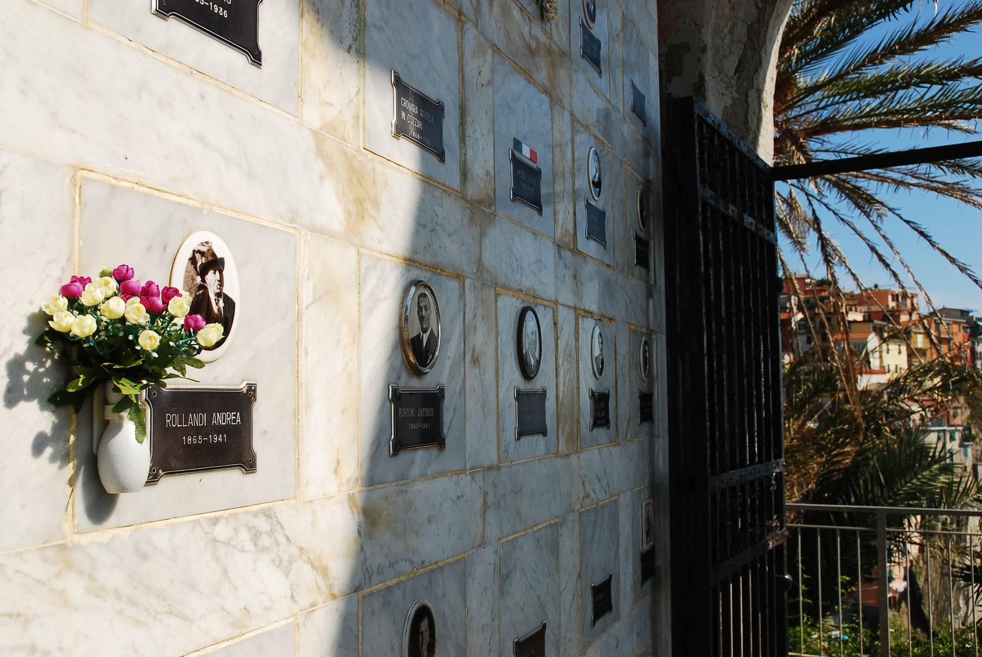 Manarola cmentarz