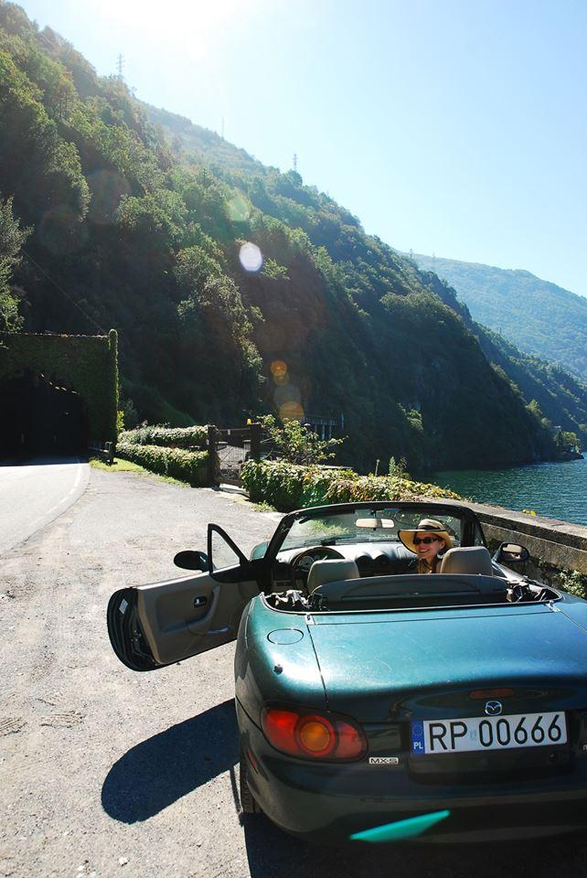 Nad jeziorem Como
