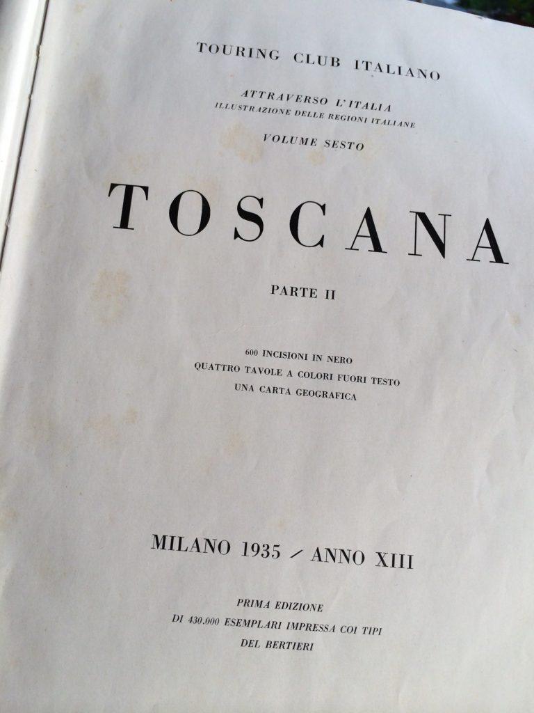 Toskania - przewodnik Touring Club Italiano
