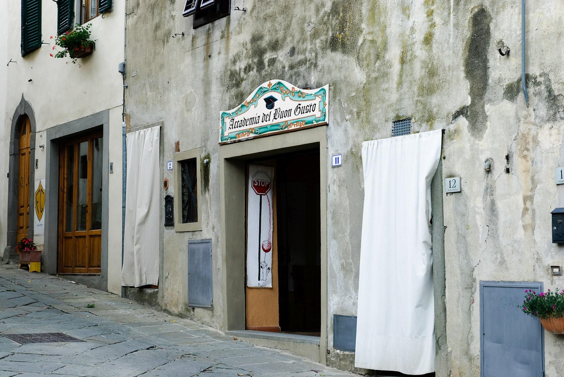 Academia del Buon Gusto w Panzano in Chianti