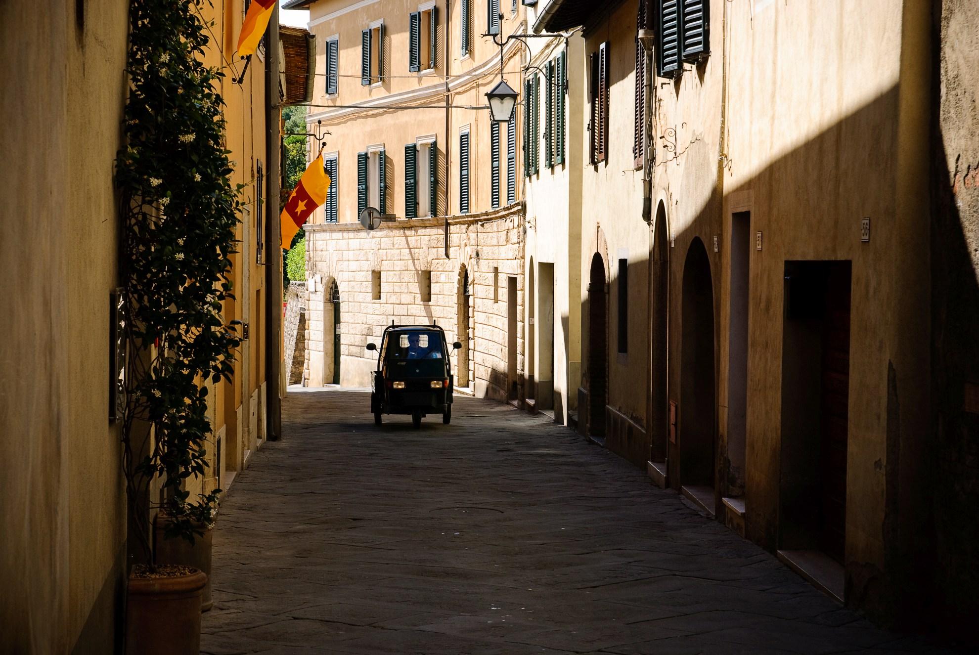 Piaggio w Montalcino