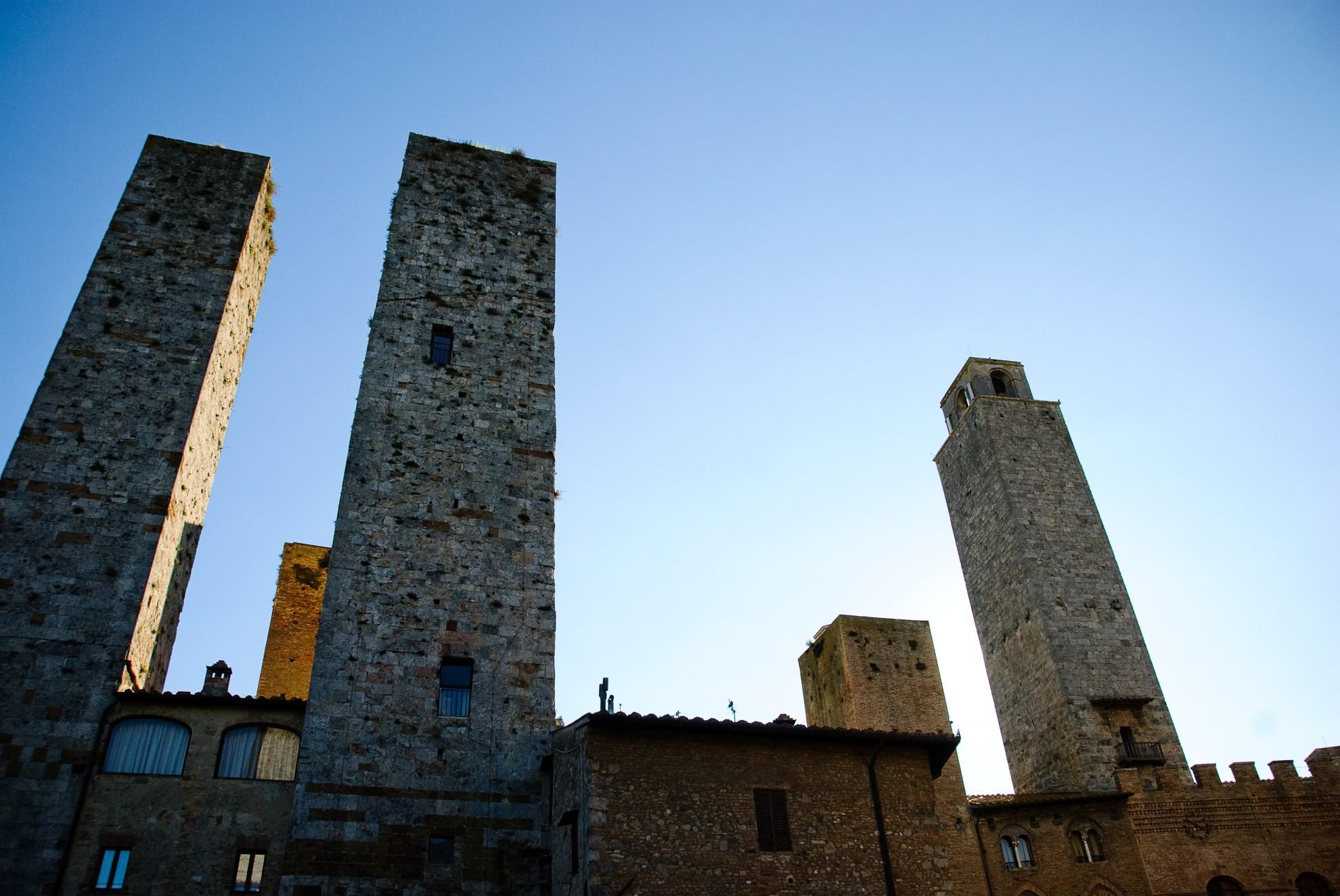Wieże w San Gimignano