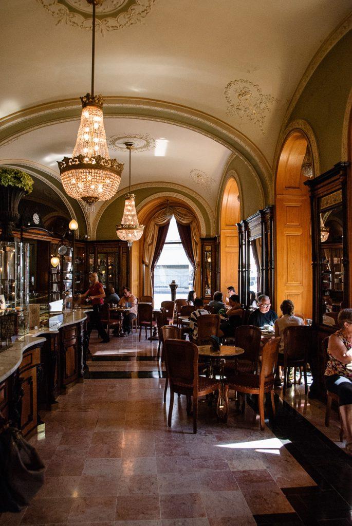 Café Gerbeaud w Budapeszcie