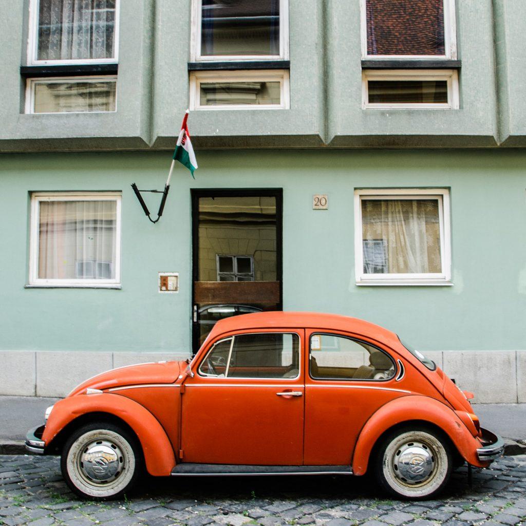 VW Garbus w Budapeszczie