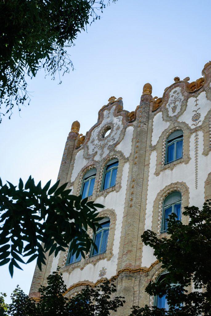 Secesyjny budynek poczty w Budapeszcie
