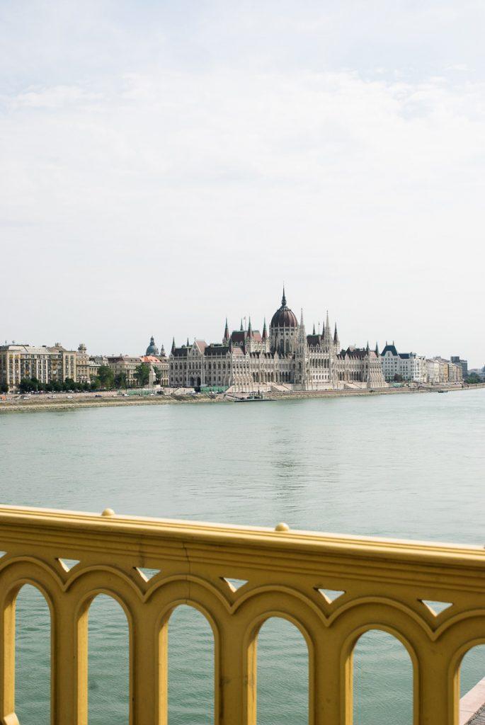 Widok z Mostu Małgorzaty w Budapeszcie