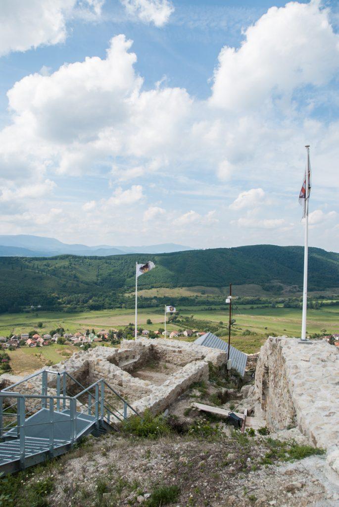 Widok z zamku w Siroku