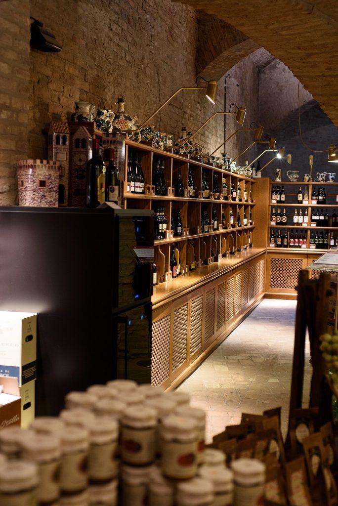 Winoteka w Dozzie