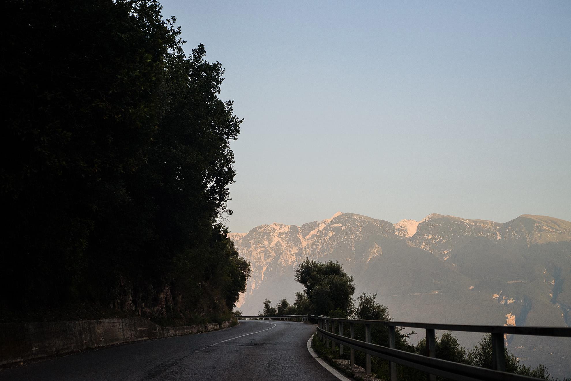 Trasa nad Lago di Garda