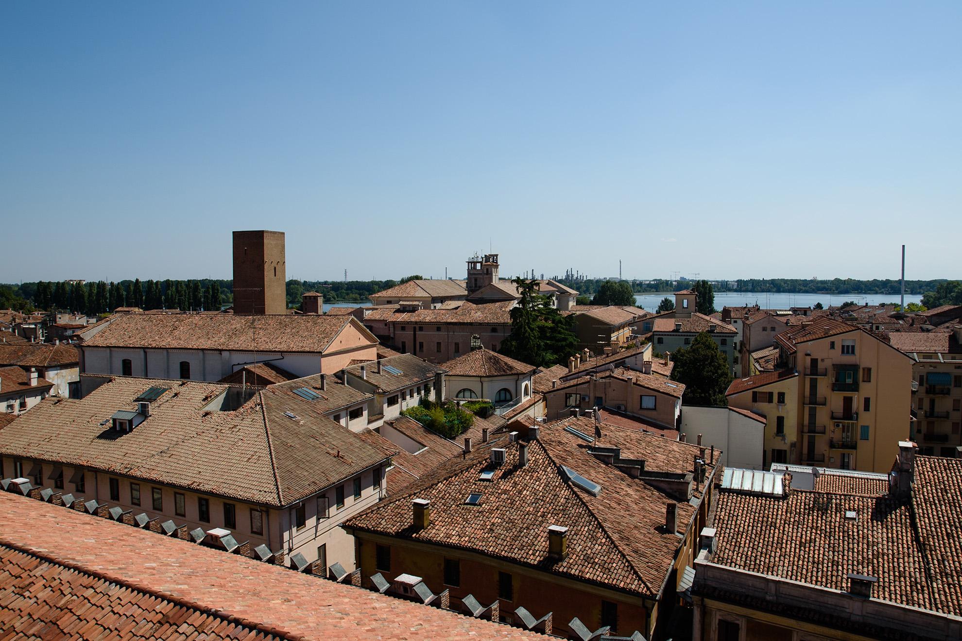 Panorama Mantui z Torre dell Orolio