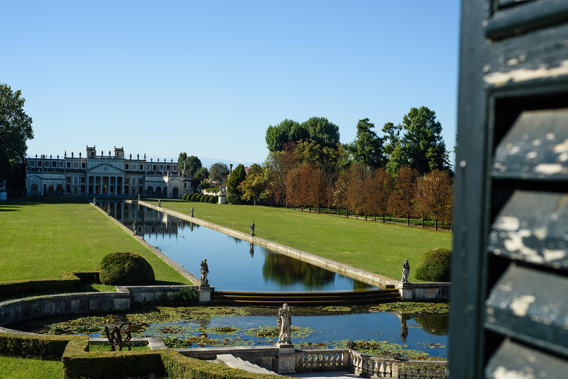 Villa Pisani - widok na pałac letni