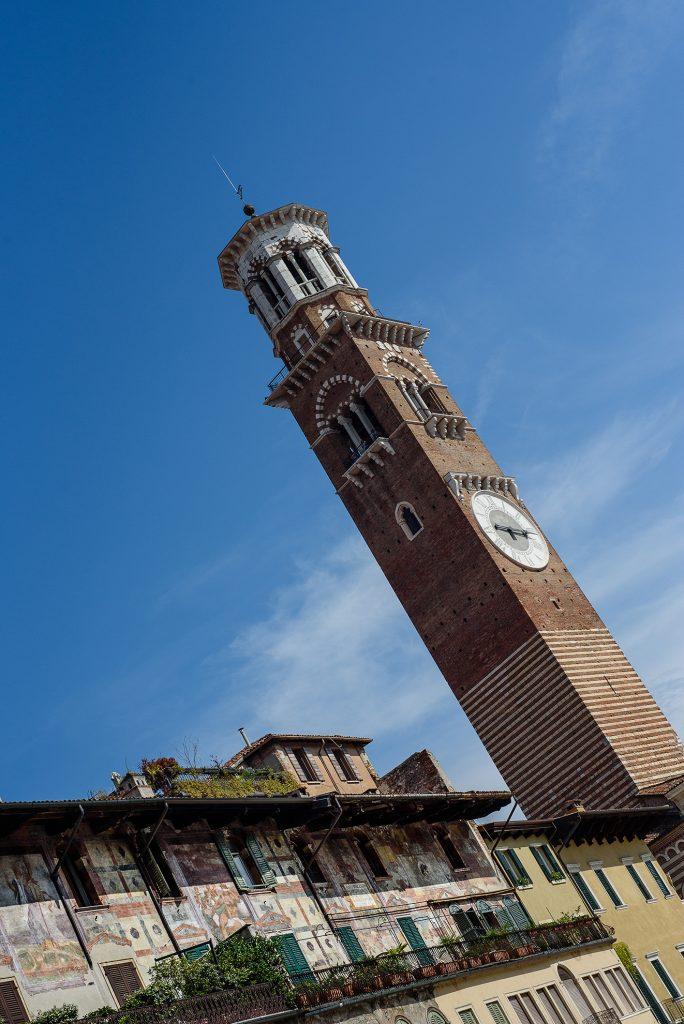 Wieża Lamberti w Weronie