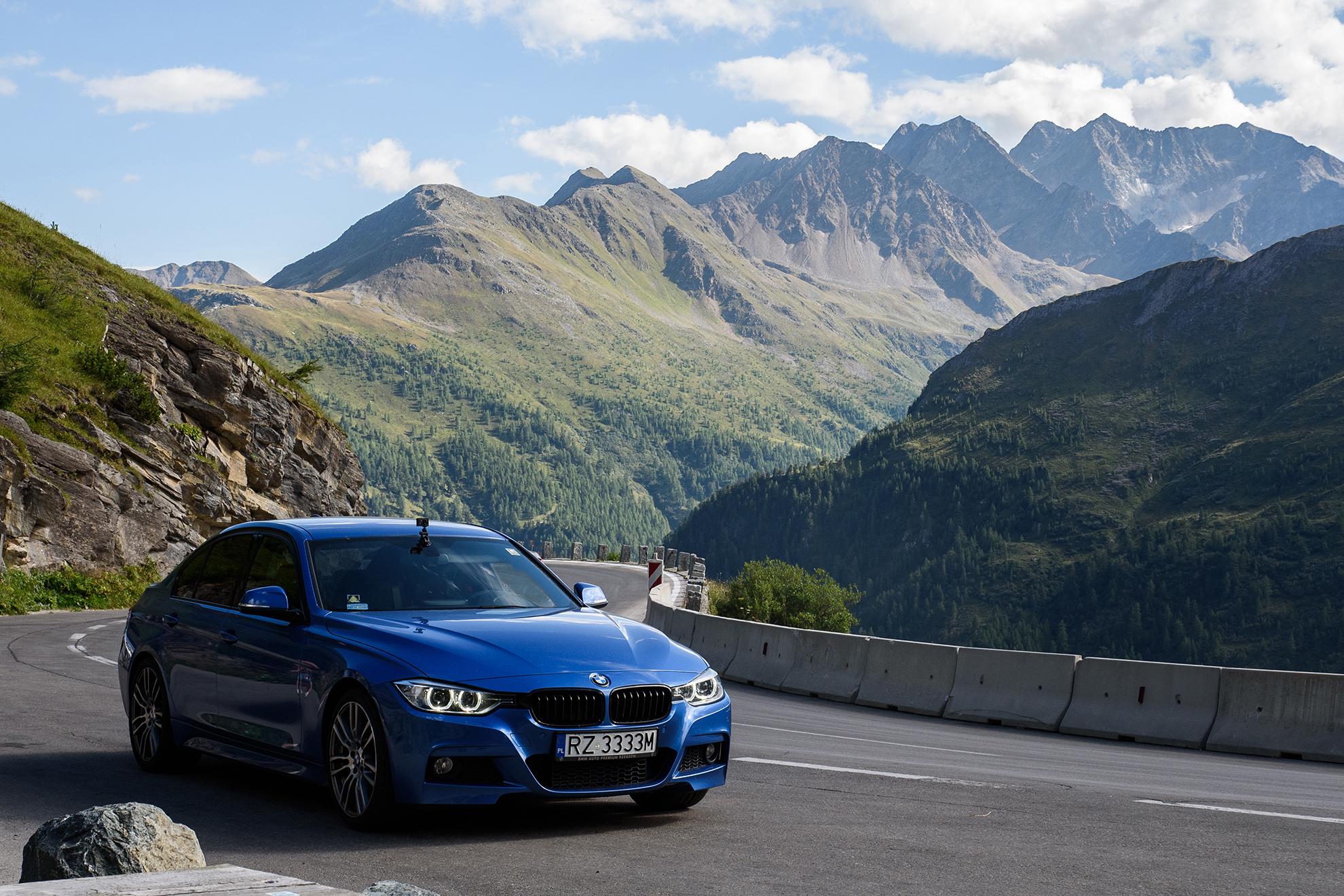BMW serii 3 (F30) na Grosslockener