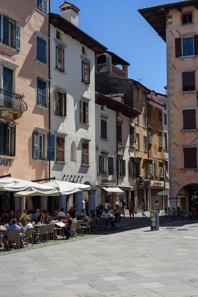Udine - Piazza San Giacomo i kawiarnie