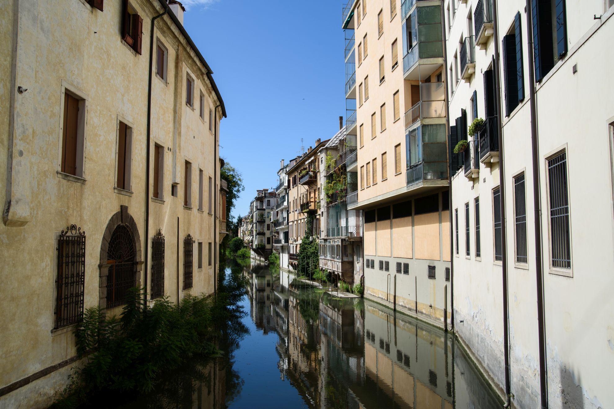 Widok z Ponte Delle Torreselle