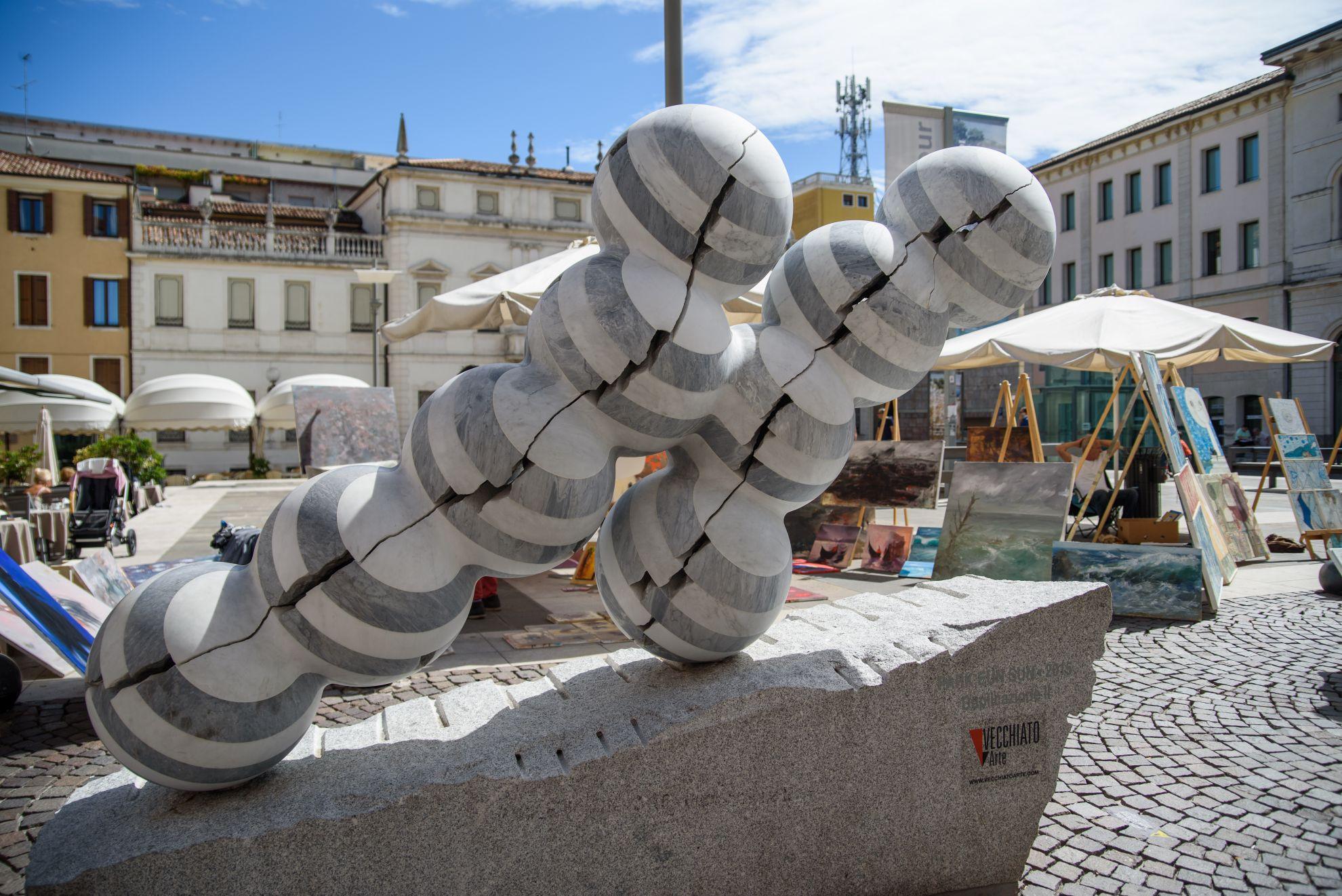 Rzeźba w Padwie