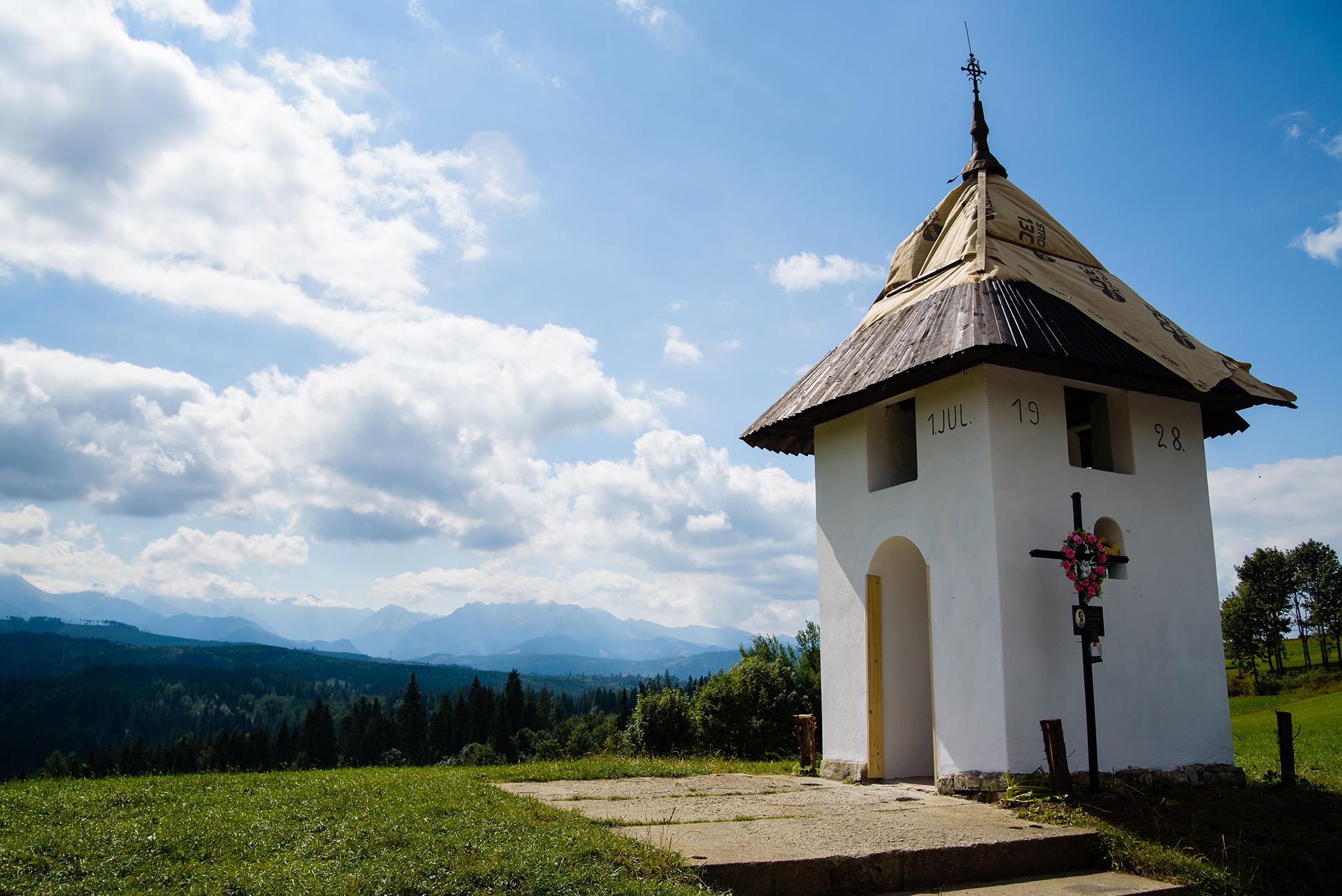 Kapliczka przy Łapszance