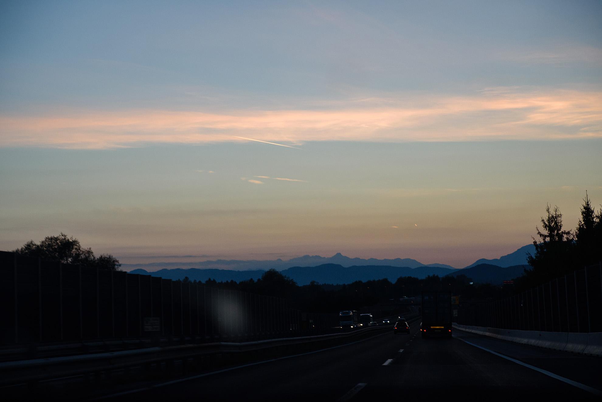 Trasa z Mariboru do Kranju i Alpy Julijskie