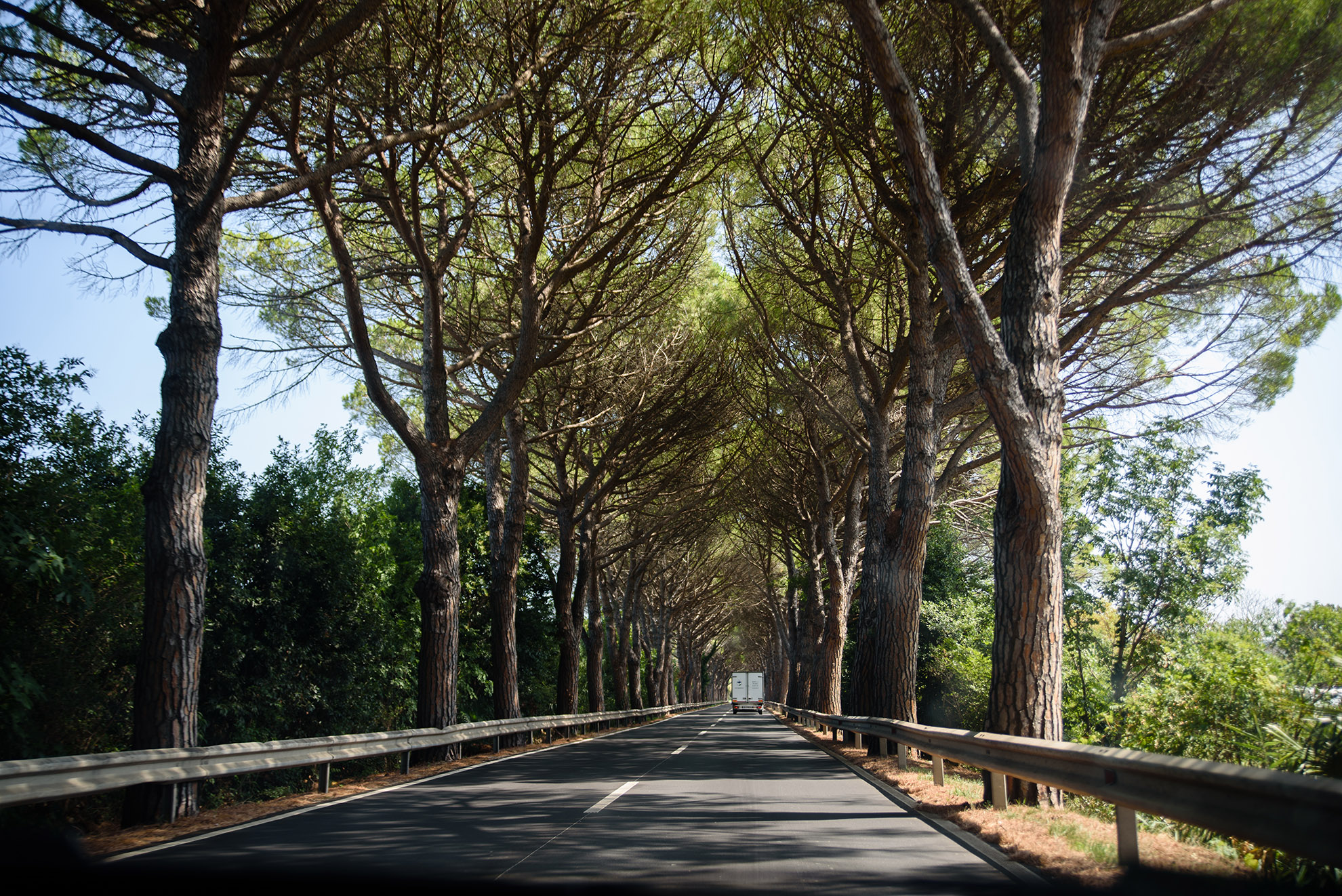 Droga do Izoli z Piranu