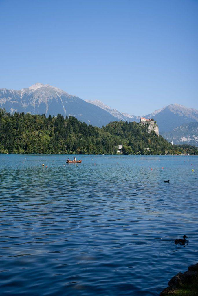 Jezioro Bled w Słowenii