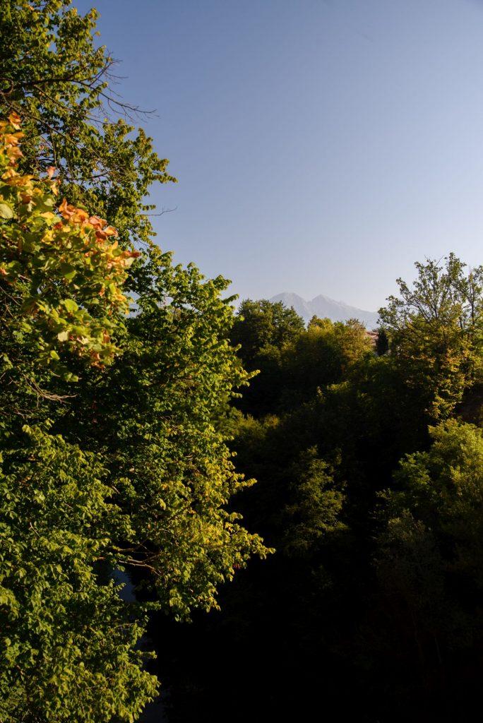 Widok na góry z Kranju