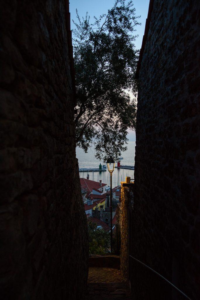 Piran, podglądamy stare miasto