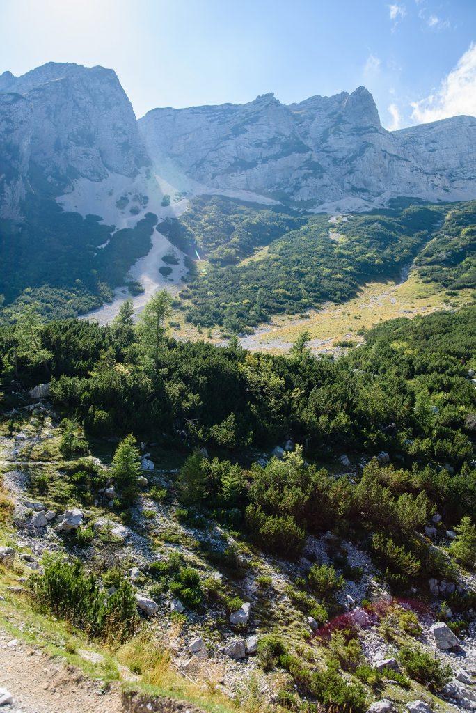 Widoki z przełęczy Vršič