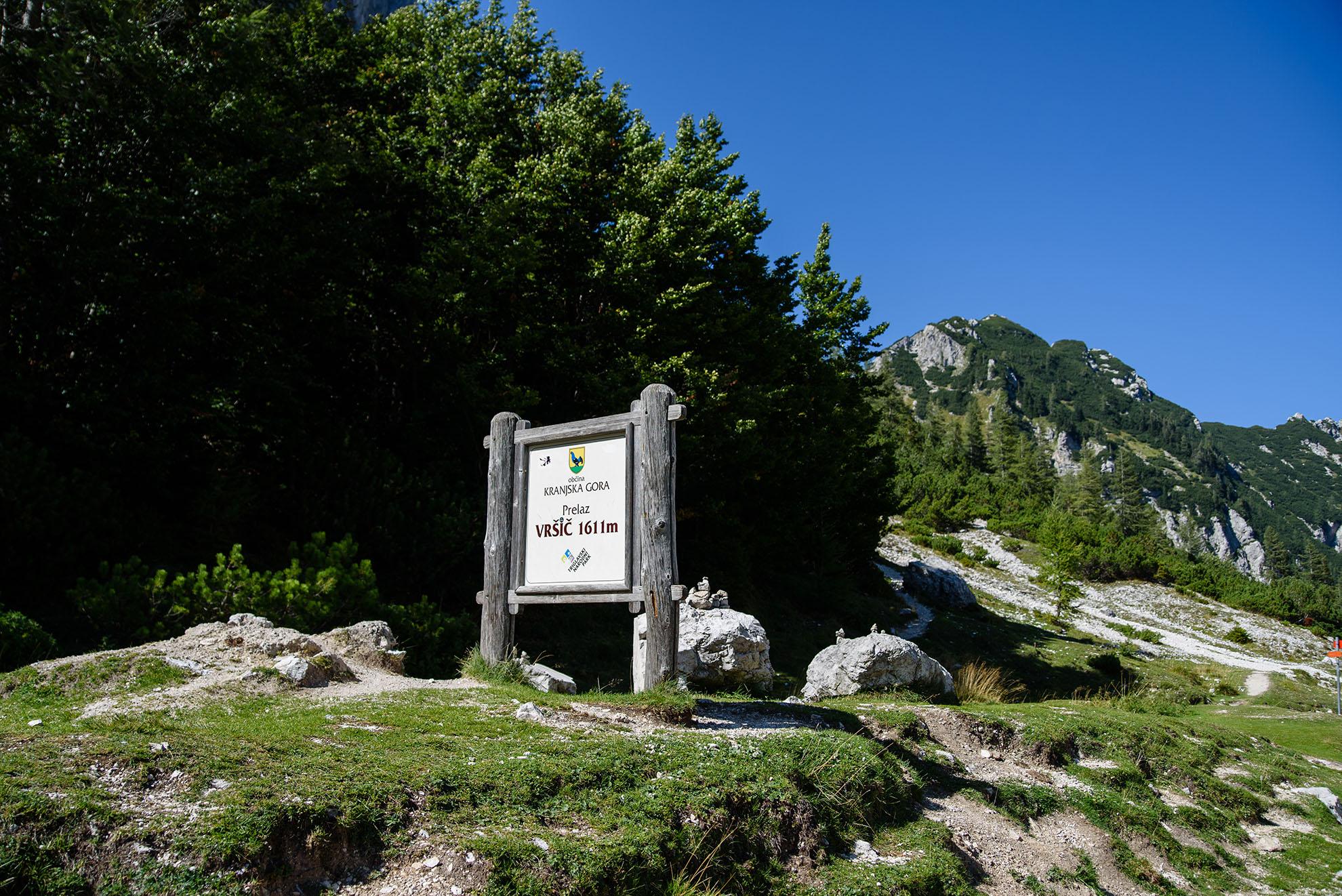 Przełęcz Vršič - jesteśmy