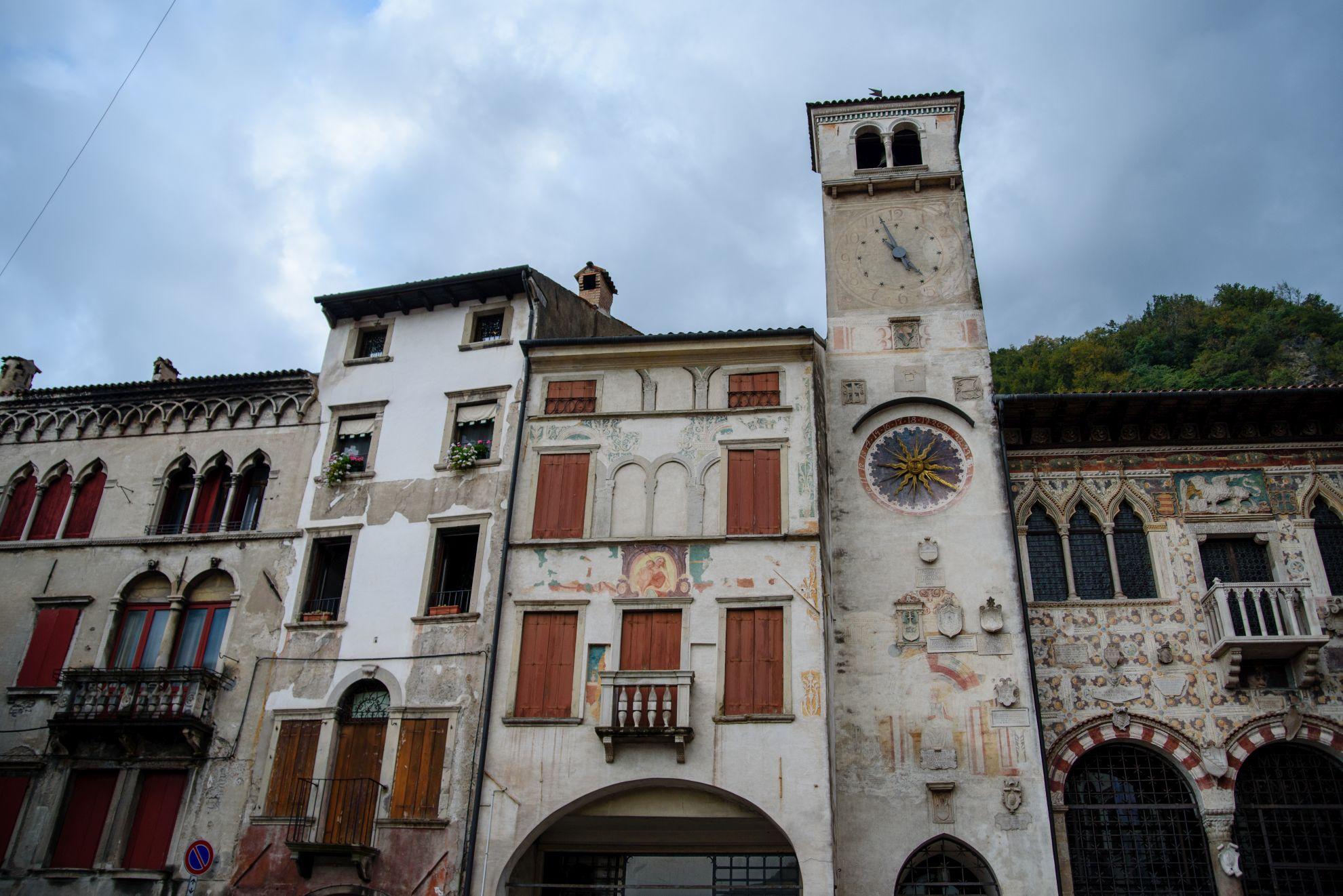 Piazza Flaminio w Serravalle