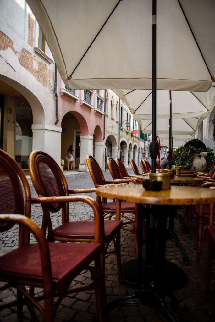 Kawiarnia w Pordenone