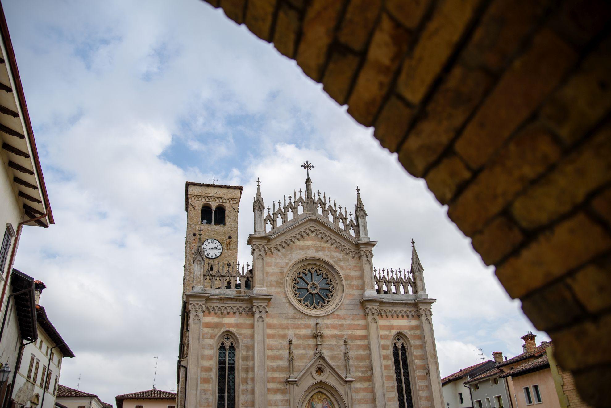 Chiesa Del Santissimo Corpo Di Cristo w Valvasone