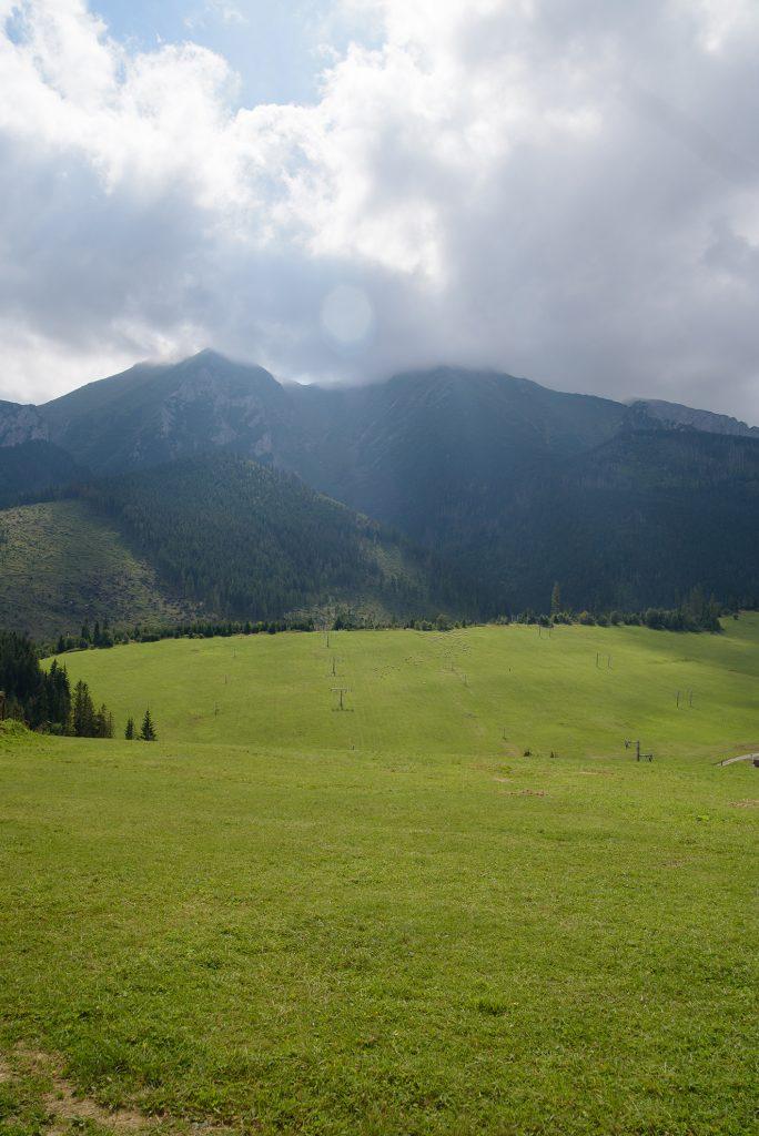 Zdziar - widok na Tatry