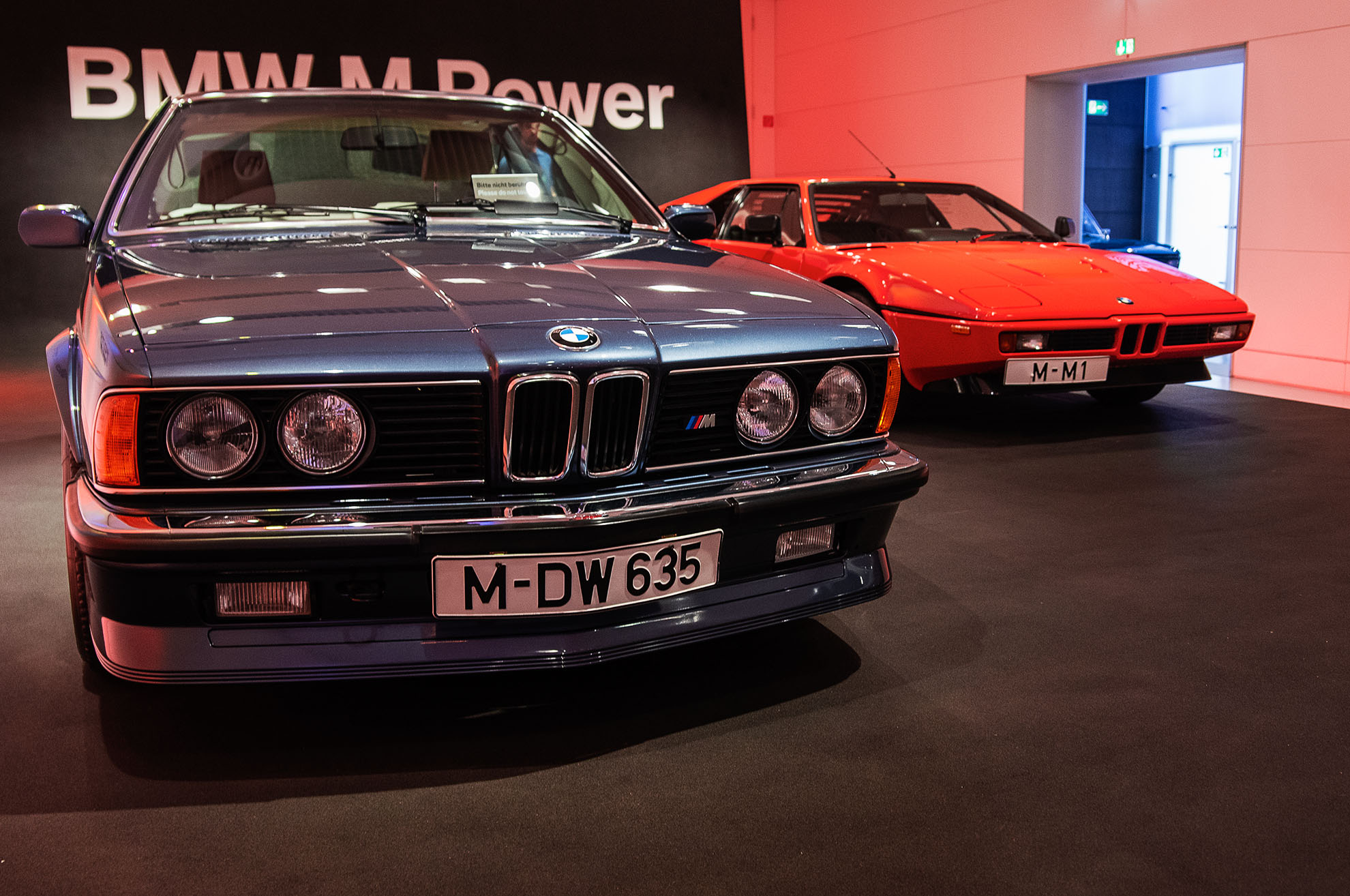 BMW M1 i BMW 635i w dziale BMW M Power