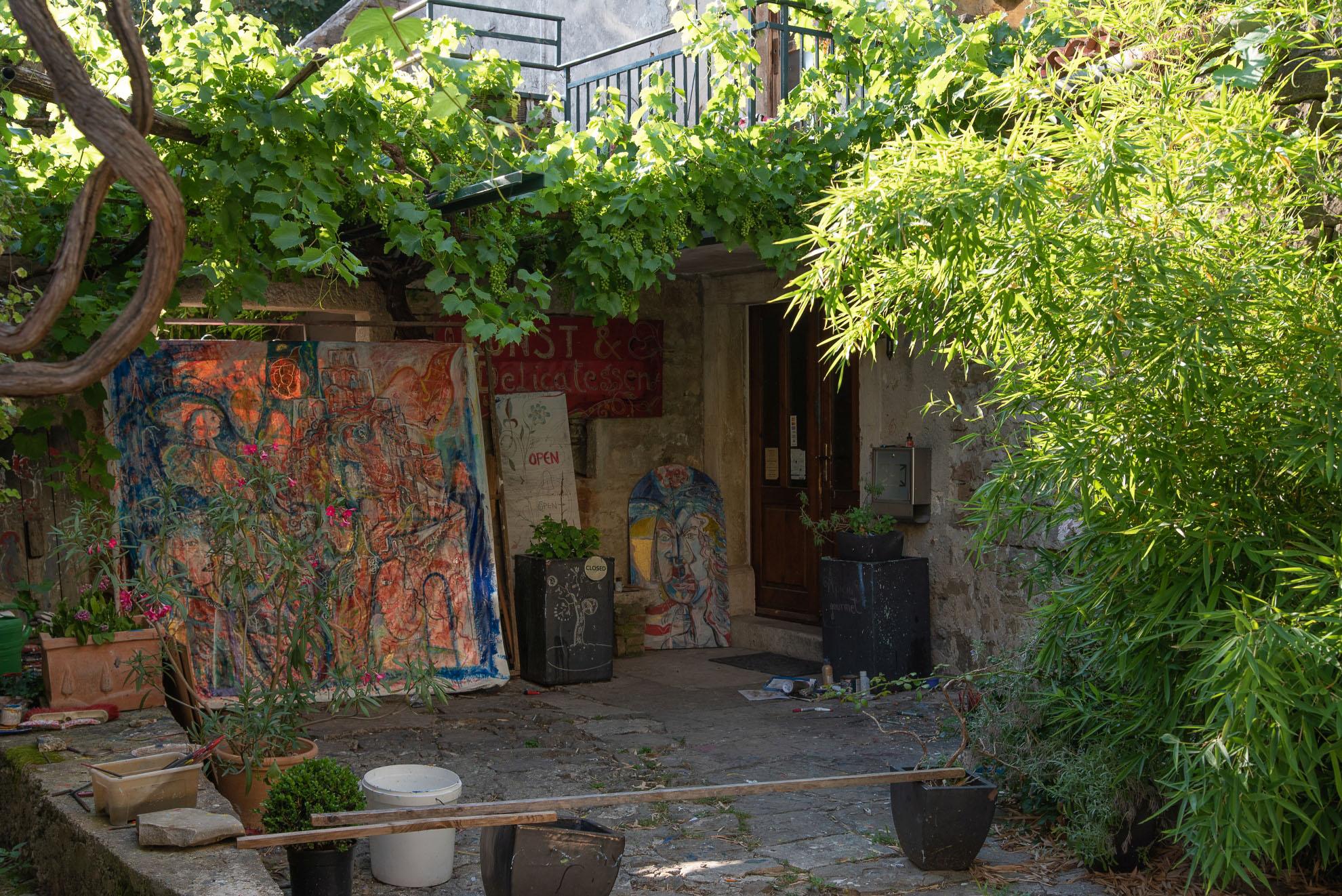 Grožnjan - miasto artystów